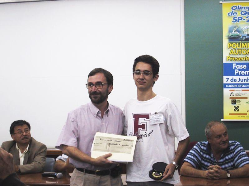 Premiação em São Paulo