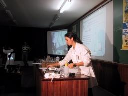 Demonstração de experiências, em São Paulo - 2003