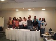 Coordenadores reunidos em Fortaleza - 2002